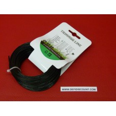 Bobine fil nylon 15mx1.6mm étoilé débroussailleuse, multifonctions noire