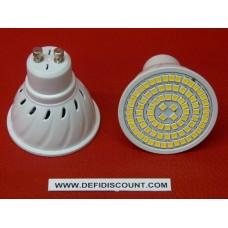 Ampoule spot 80 leds 220v GU10 8W