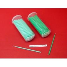 Tiges carrosserie pointe vert 1.5 micro retouche éclat peinture