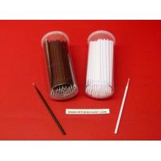 Tiges carrosserie pointe blanc ou noir 1mm micro retouche éclat peinture