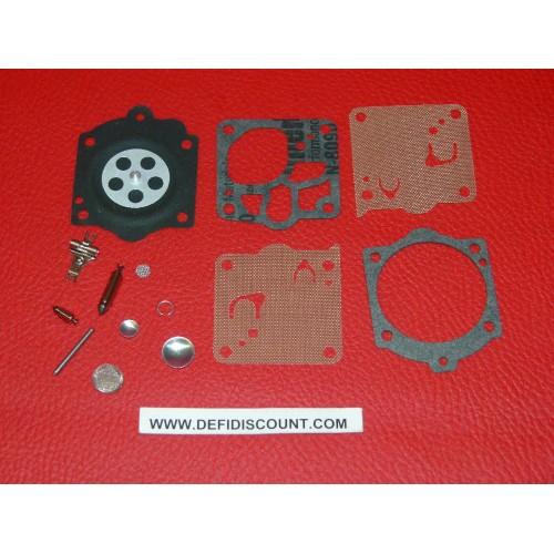 Kit 14 pièces joints membranes carburateur K10-WS Walbro