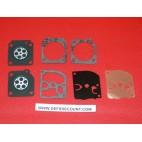 Kit 7 pièces joints et membranes carburateur ZAMA GND-27