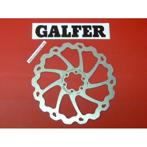 Disque de frein Galfer pour vélo DF0030W1BC 185mm