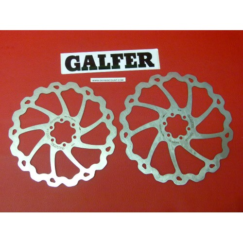 Disques de frein Galfer pour vélo 185mm et 203mm
