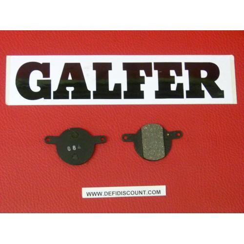 Plaquettes de frein Galfer pour vélo VTT mountain bike rectangles FD236 G1054