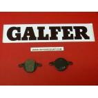 Plaquettes de frein Galfer pour vélo Bicyclette rondes FD237
