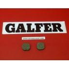 Plaquettes de frein Galfer pour vélo rondes bicyclette FD215