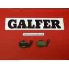 Plaquettes de frein Galfer pour vélo rondes vtt mountain bike FD253