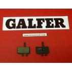 Plaquettes de frein Galfer pour vélo rectangulaires bicyclette FD281