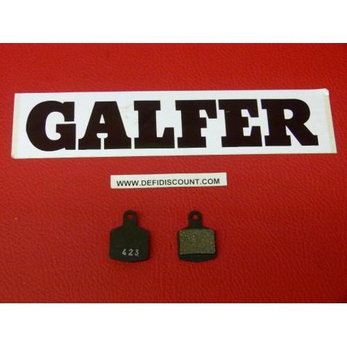 Plaquettes de frein Galfer pour vélo carrés mountain bike FD241