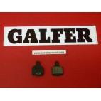 Plaquettes de frein Galfer pour vélo carrés moutain bike FD241