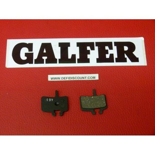 Plaquettes de frein Galfer pour vélo VTT bicyclette FD282