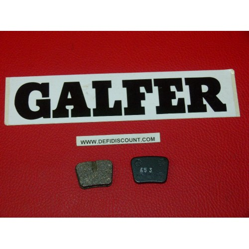 Plaquettes de frein Galfer pour vélo mountain bike FD255 FD255G1054