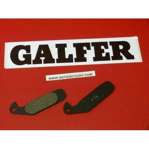 Plaquettes de frein Galfer pour vélo mountain bike FD246 FD246G1054