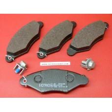 4 plaquettes frein Motrio avant Renault Kangoo Nissan 8671014265