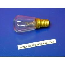 Ampoule Claude claire E14 15w 230v