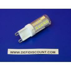 Ampoule G9 33 leds 240v 3w blanc