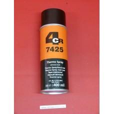 Peinture aérosol haute température noir 400ml 800°c