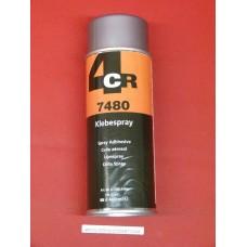 Colle spray aérosol papier bois carton liège 7480