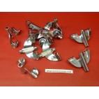 Papillon x10 pièces grosse caisse Stagg batterie instrument musique 3B-HP