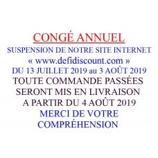 CONGÉ ANNUEL