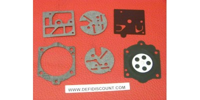 Kit 6 pièces joints membrane carburateur Walbro K10-HDC