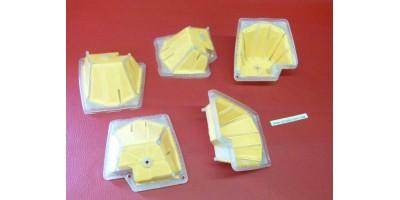 x5 Filtres à air Stihl tronçonneuse adaptable MS270 MS270C MS280 MS280C MS280I