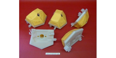 x5 Filtres à air Husqvarna tronçonneuse adaptable 51 55 55EPA