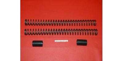 Kit 2 ressorts + 2 tubes de précharge dureté supérieur MARZOCCHI
