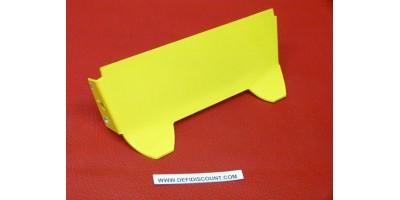Plaque jaune Gasgas radiateur Amarilla