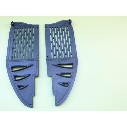 Plaques frontales radiateur AJP PR5