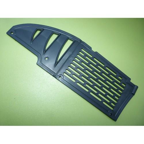 Plaque frontale radiateur AJP PR3/PR4 noire