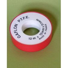 Rouleau de téflon pour plomberie étanchéité PTFE des raccords fileté