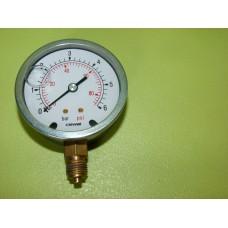 Manomètre 0-6 bars 68mm 83 psi Cewal