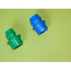 Insert cannelé de raccord LOCK vert 16mm ou bleu 20mm