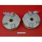 Moyeux tambours de quad complets avec garniture pour quad Bashan, ATV