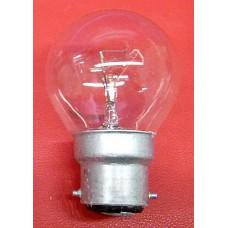 Ampoule sphérique B22 clair