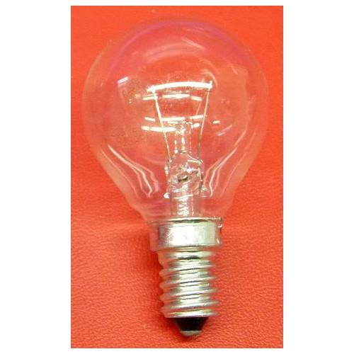 Ampoule sphérique clair E14 vissée incandescence
