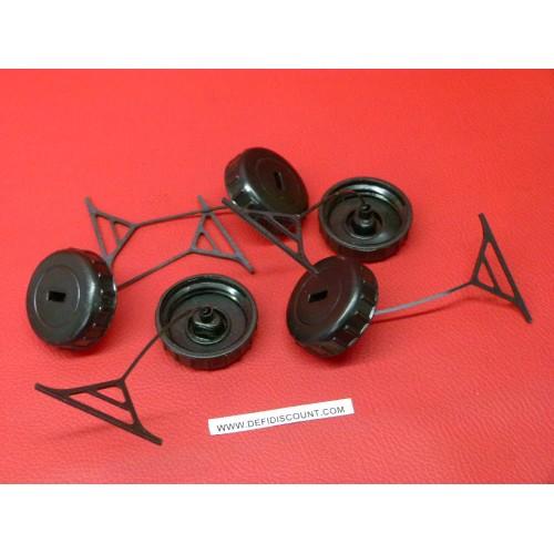 x5 Bouchons réservoir adaptable huile ou essence Stihl MS170 MS180 1130 350 0500