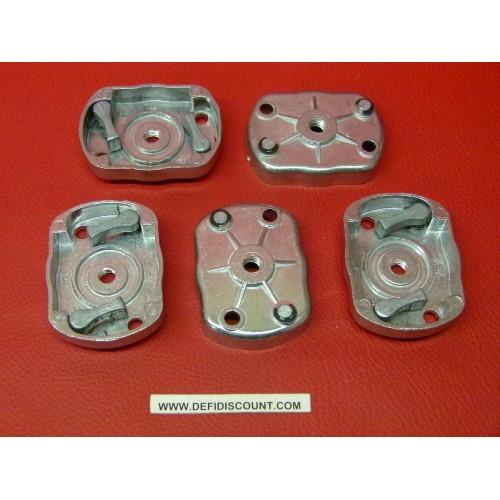 x5 Blocs cliquets lanceur aluminium 64mmx48mm