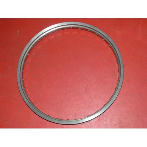 """Cerclage avant Morad Spain aluminium 21"""" x 1.60 10LCD 32T alu brossé"""