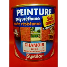 Peinture sol Syntilor Polyuréthane 500ml couleurs aux choix