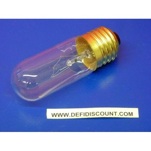 Ampoule incandescence Orbitec E27 cylindrique 240v 40w