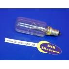 Ampoule cylindre 60w E14 clair  230v Sylvania