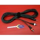 Câble 2 RCA 1 mini jack Kenwood instrument musique studio sono DJ Hifi