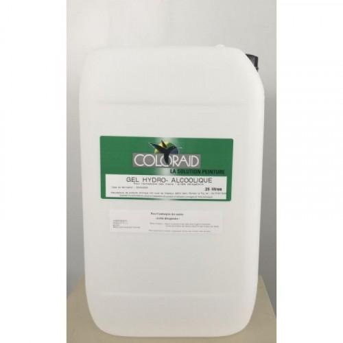 Gel hydroalcoolique pour l'antisepsiedes mains flacon 25 Litres