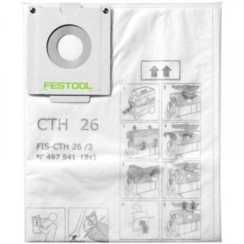 Sacs filtre de sécurité pour CTH 26 - FESTOOL