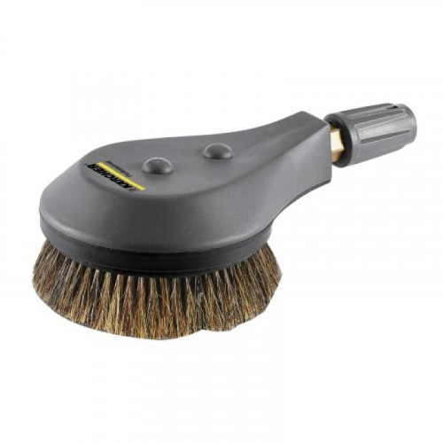 Brosse de lavage poil naturel pour nettoyeur haute pression - KARCHER