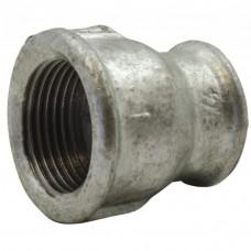 Réduction manchon fonte galvanisé F/F à visser 33x42 20x27