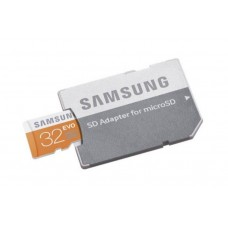 Adaptateur SD.Carte microSDHC Samsung Evo 32 GB
